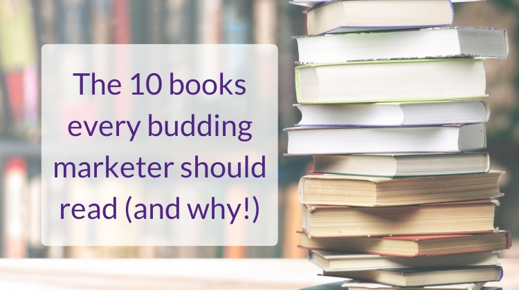 10 books budding marketer read