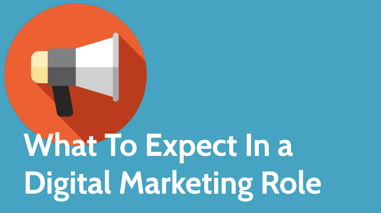 What To Expect In a Digital Marketing Role