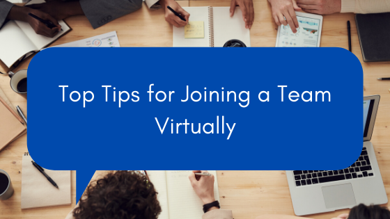 5 tips for joining a team virtually.