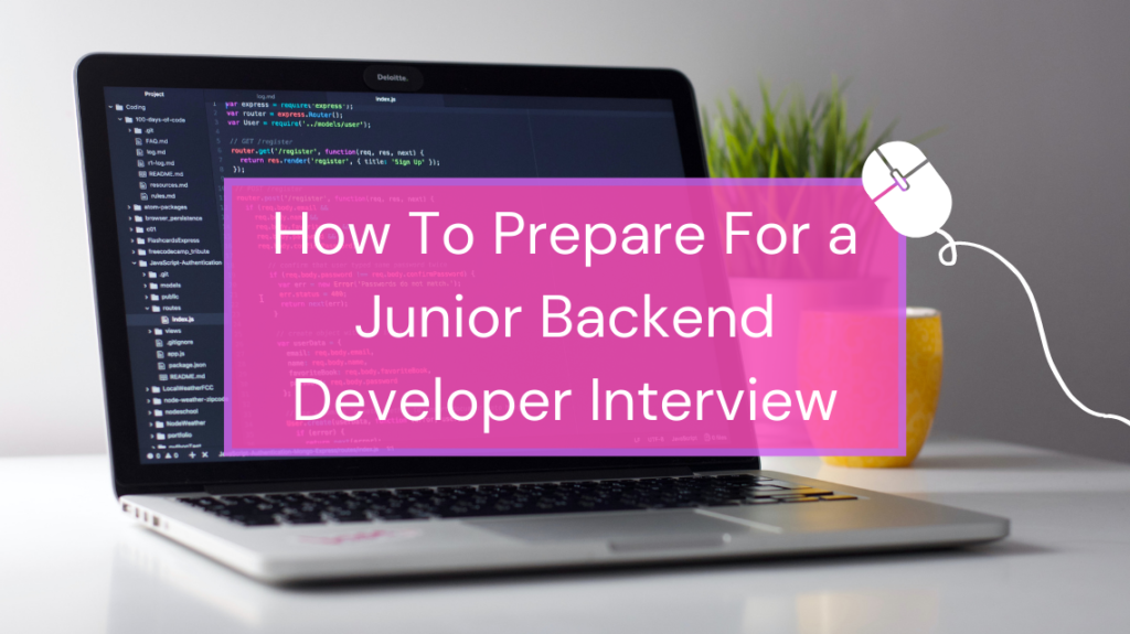 How To Prepare For a Junior Backend Developer Interview by Clément H on Unsplash
