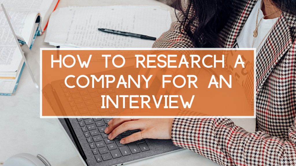 How to Research a Company for an Interview by Surface on Unsplash