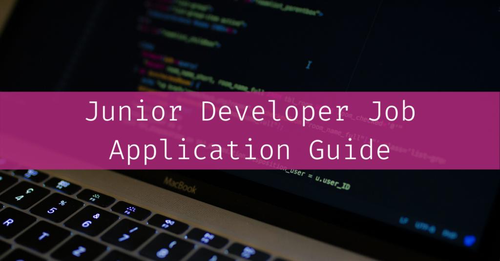 Junior Developer Job Application Guide by Caspar Camille Rubin on Unsplash