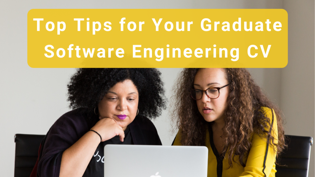 Top Tips for Your Graduate Software Engineering CV by Christina @ woc in the chat on Unsplash
