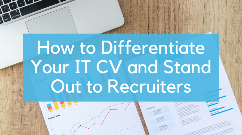 How to Differentiate Your IT CV and Stand Out to Recruiters by Lukas from Pexels