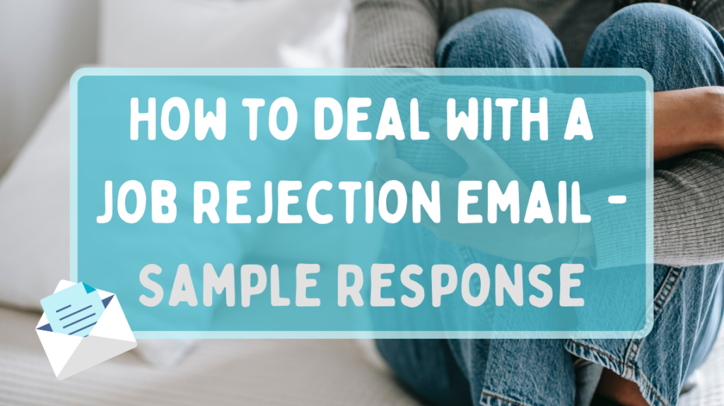 How to deal with job rejection email by Alex Green from Pexels