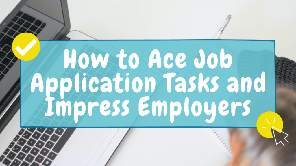 how to ace job application tasks by J. Kelly Brito on Unsplash